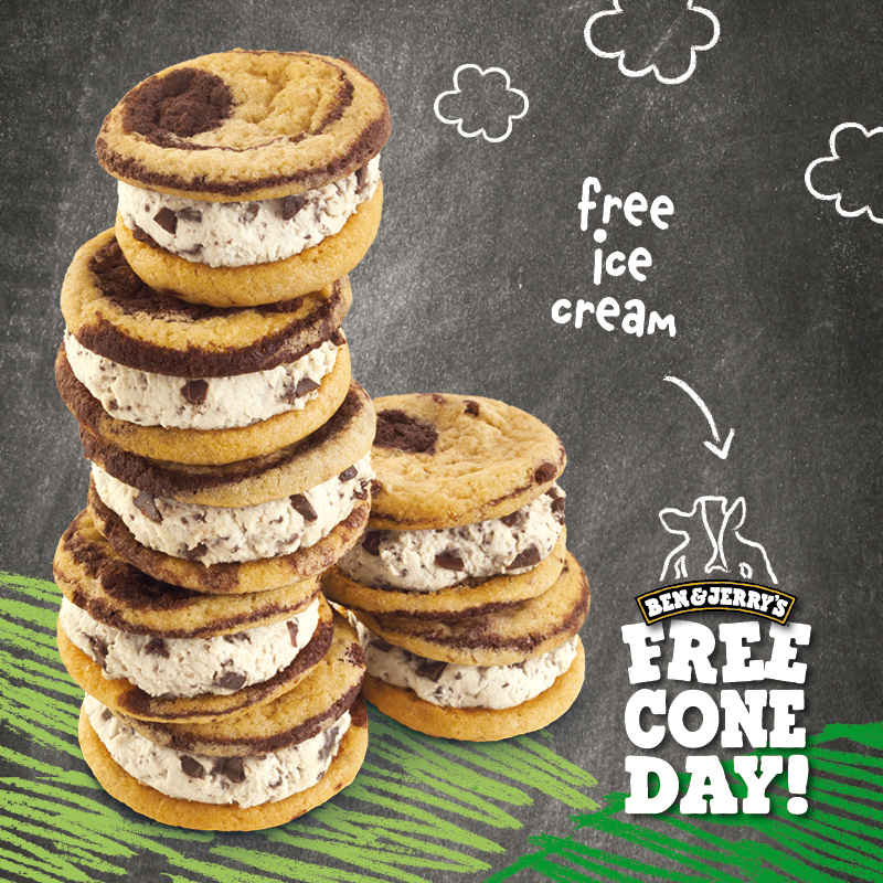 FREE CONE DAY 2016