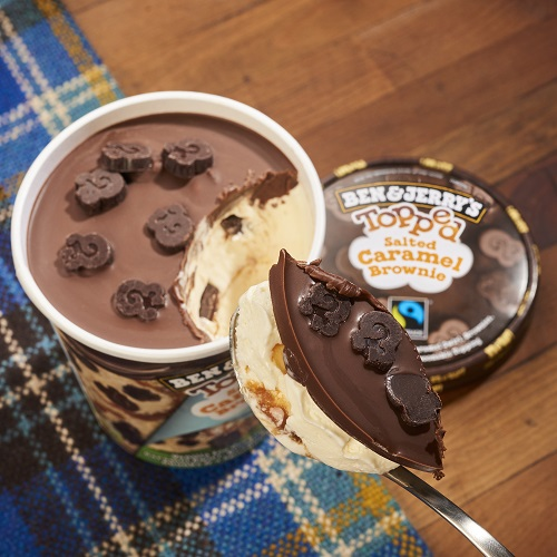 Prevent freezer burn of your Ben & Jerry's by inverting pint in the freezer.