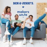 Ben & Jerry's x Makers Unite lanceert de 'Meet Me Halfway' collectie