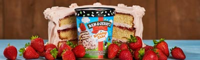 Surprise! It's our new Birthday Cake ice cream!