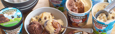 Get Ben & Jerry's Delivered to your door