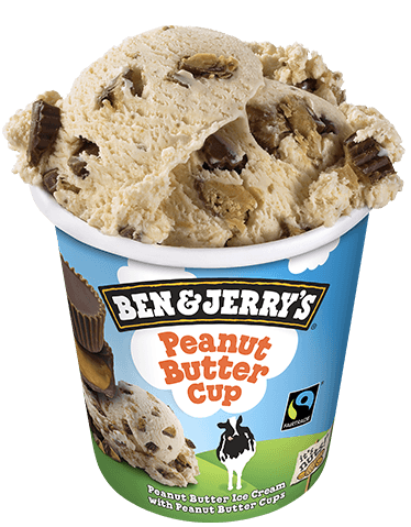 peanut butter cup eiscreme ben jerry s. Black Bedroom Furniture Sets. Home Design Ideas