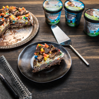 Rezept: Halloween Ice Cream Cake