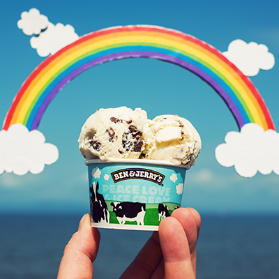 Free Cone Day – Regenbogenpower