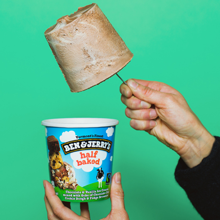 Prevent freezer burn of your Ben & Jerry's by eating it all!
