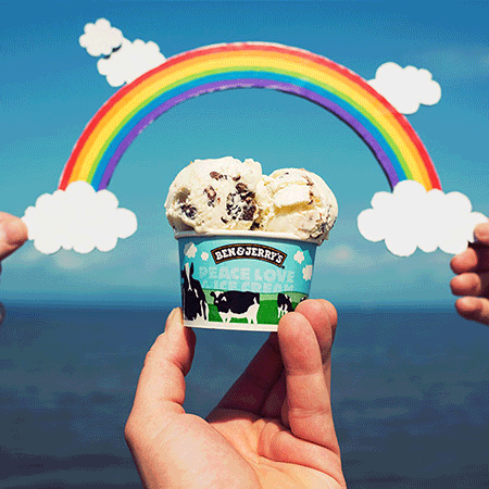 Support Equal Rights for All on Ben & Jerry's Free Cone Day