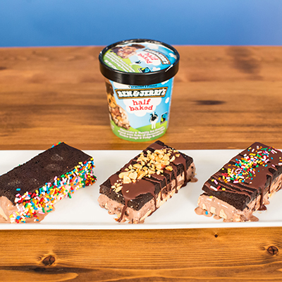 Ben & Jerry's Half Baked Bars recipe